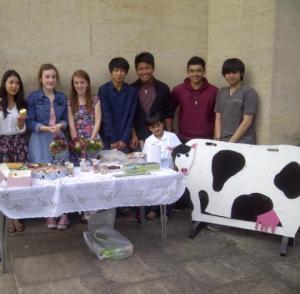 Members of St Mary's Grantham Youth Group