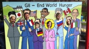G8 leaders?? at the Big If Belfast