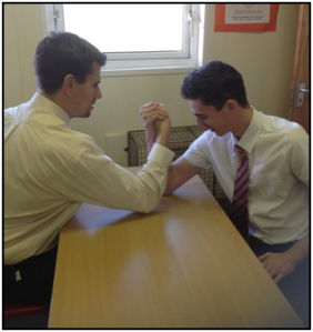 Arm wrestling anyone?