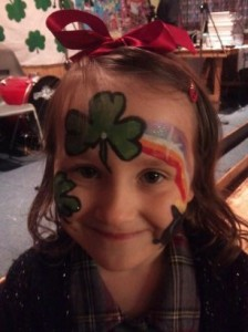 Face-painting fun