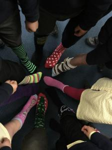 Who has got the silliest socks?