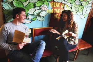 Jason and Bea are starting their CAFOD gap year