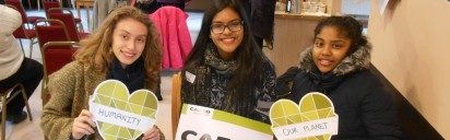 CAFOD-volunteers-at-a-Fast-Day-event-in-Luton